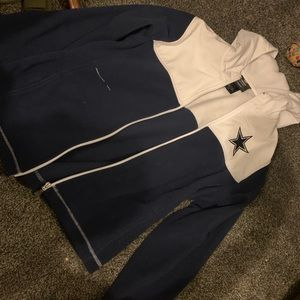Cowboys women's zip-up!
